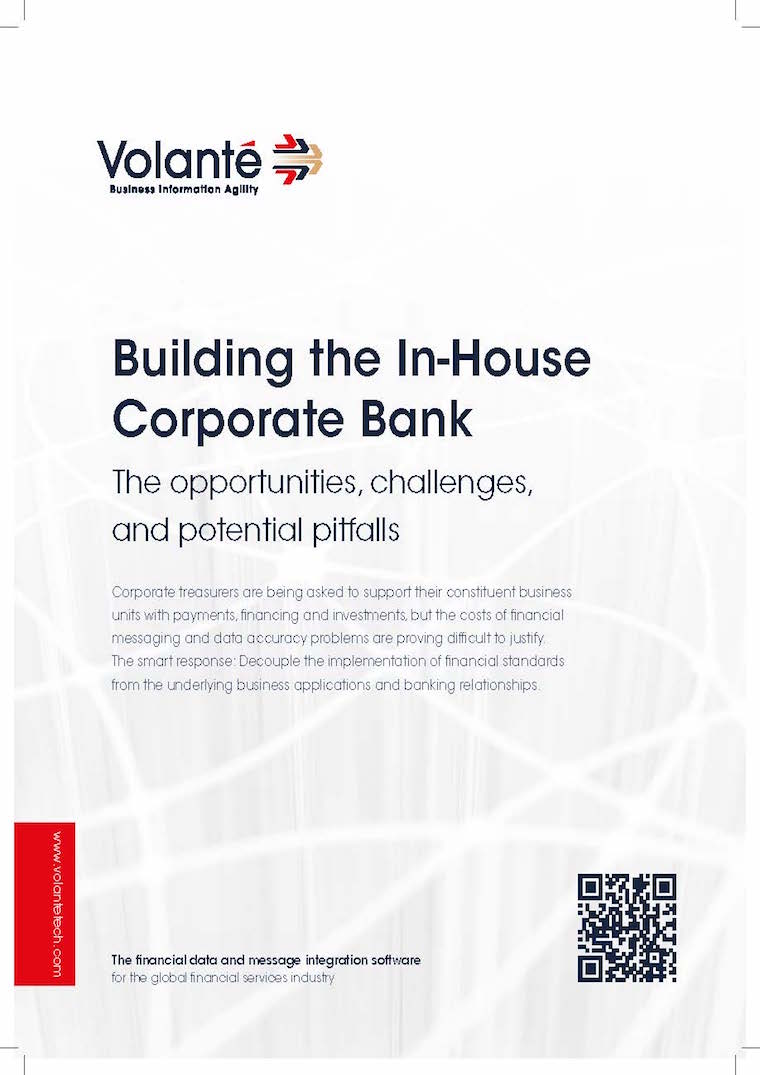 Building the In-House Corporate Bank