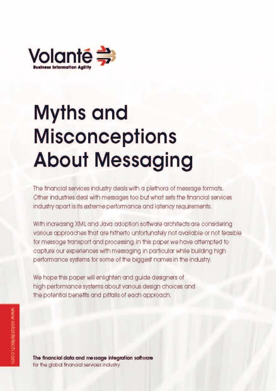 Messaging Myths
