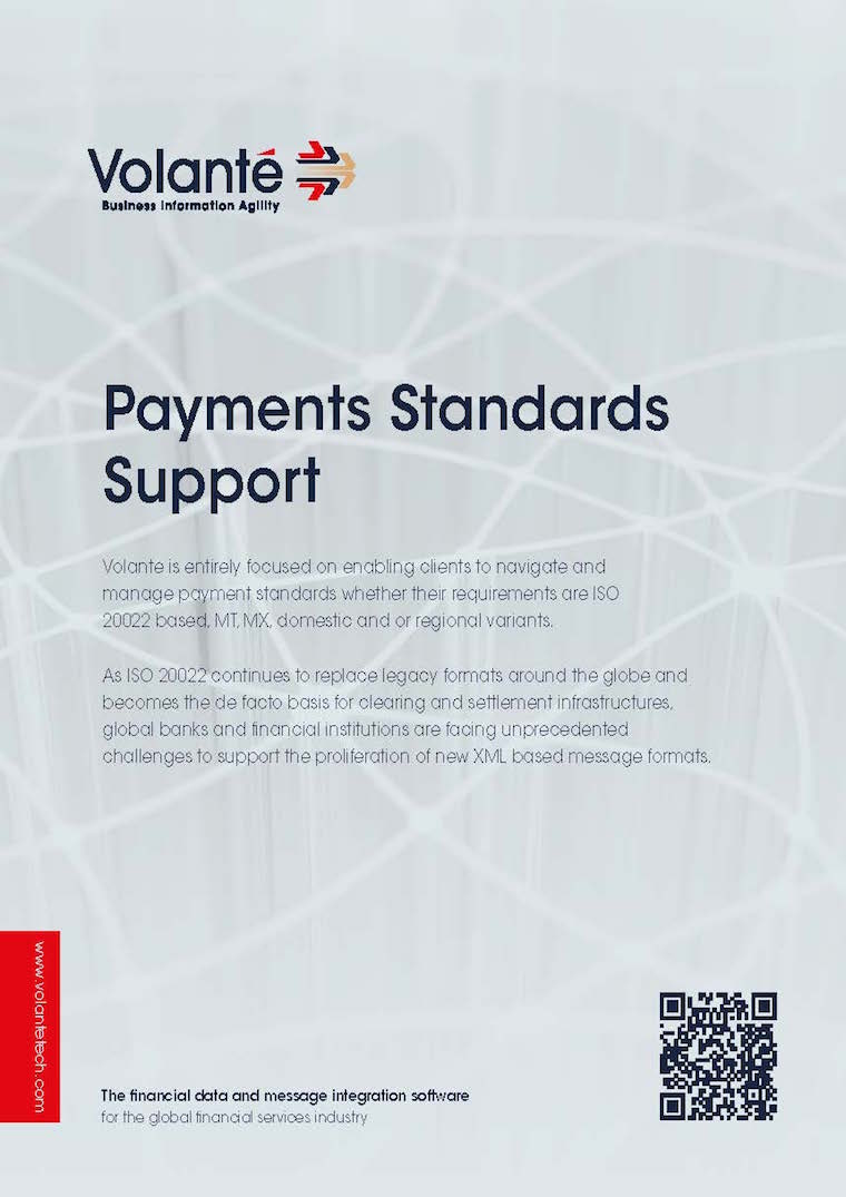 Payments Standards Support
