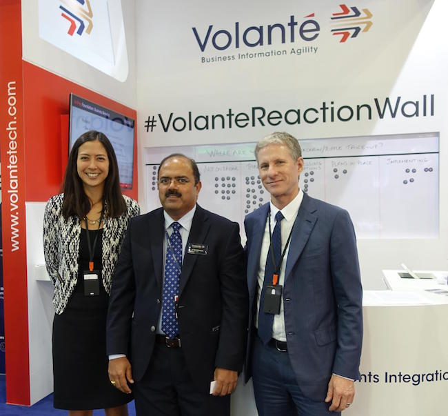 Chris Larsen, Vijay Oddiraju and Monica Long