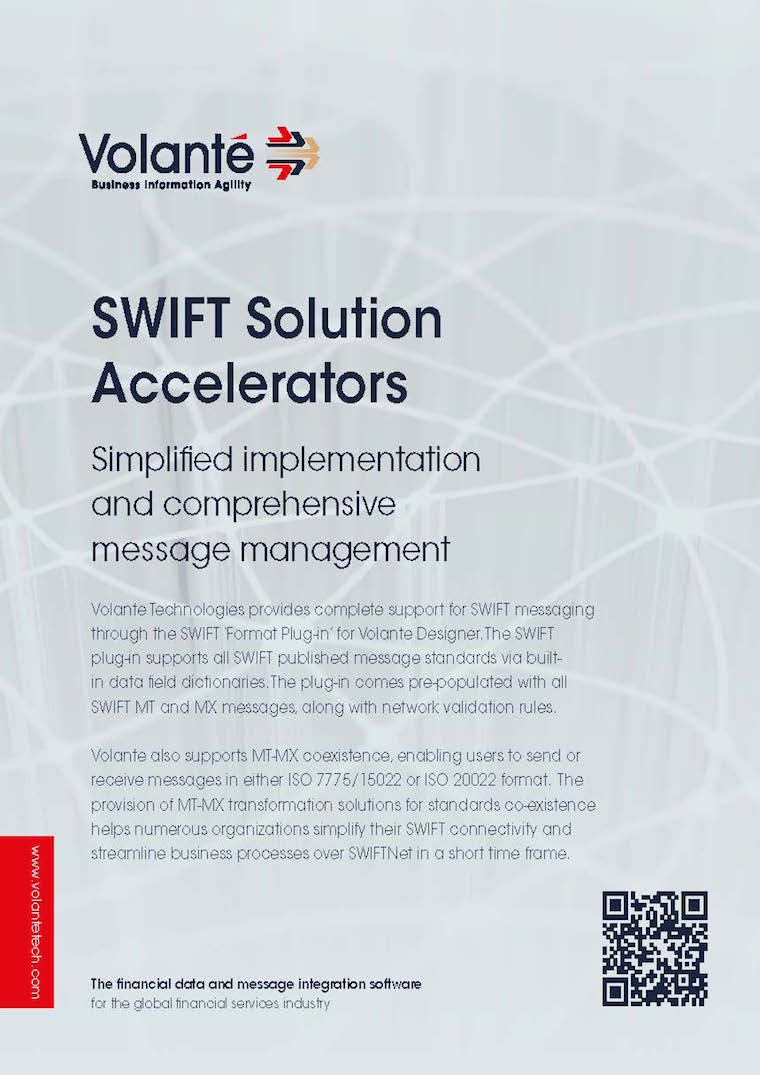 Volante SWIFT Solution Accelerators