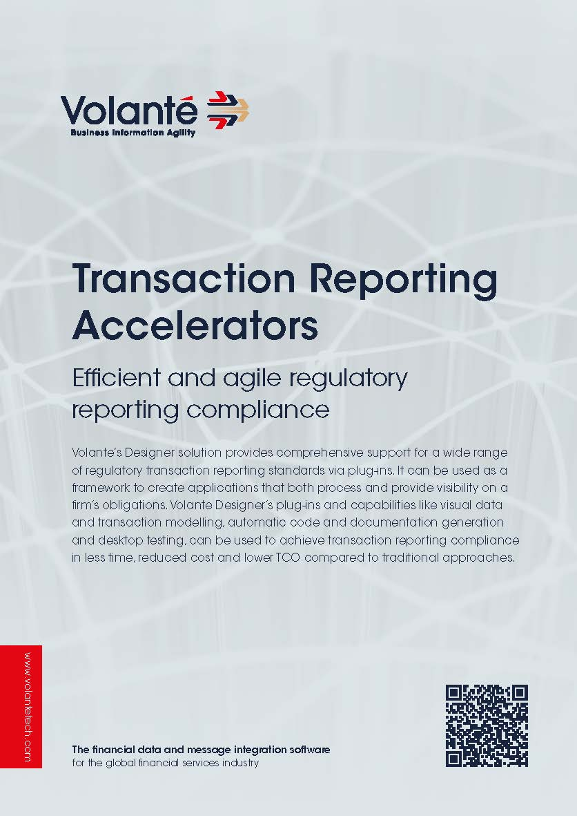 Volante for Transaction Reporting