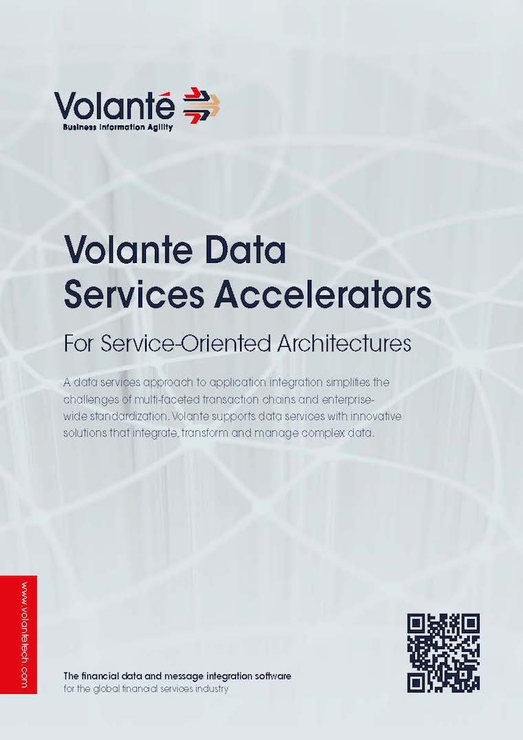 Volante Data Services Accelerators For Service-Oriented Architectures
