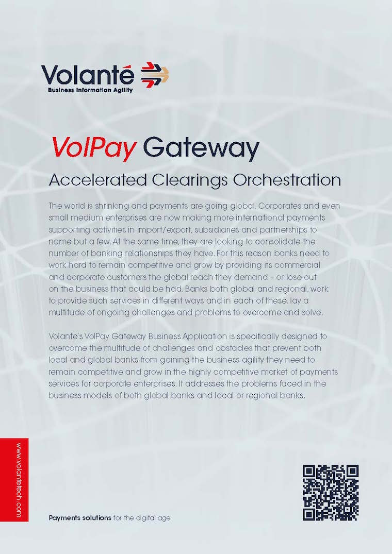 VolPay Gateway Brochure